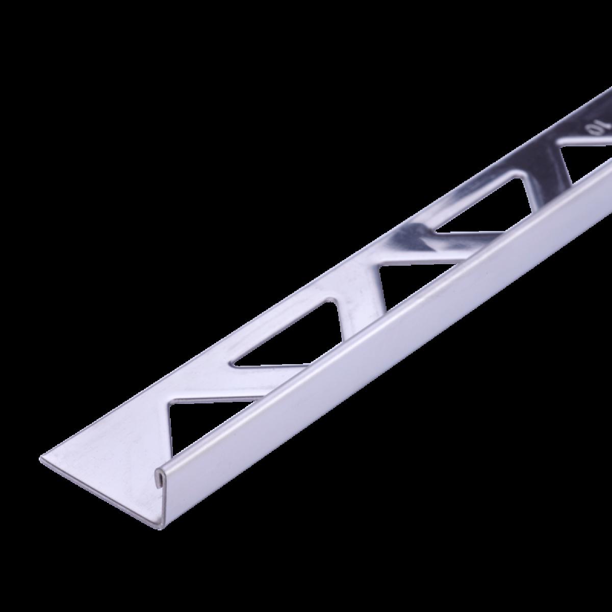 Edelstahl-Fliesenschiene FE 150 à 2,50 m