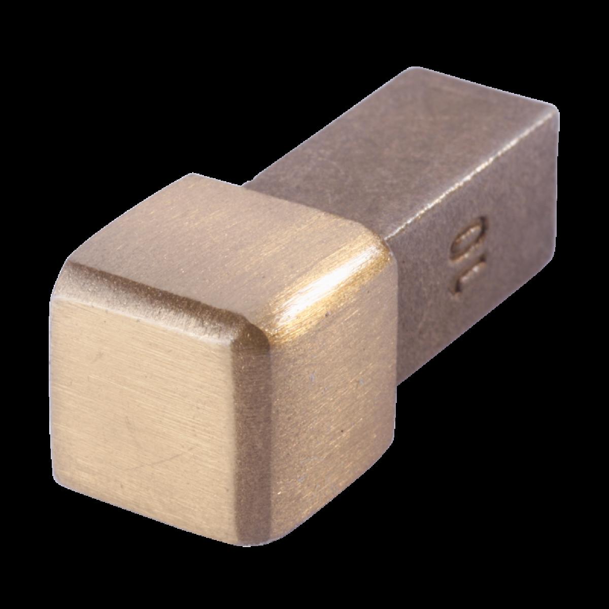 Außenecke FEQ-S 110 GG - Style Volledelstahl  - gold geb.