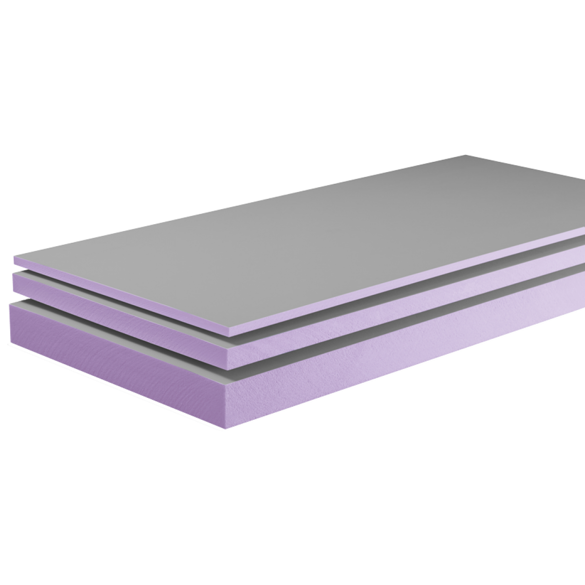 Systembauplatten 2600 x 600 x 10 mm / HBCD-frei