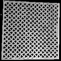 Mosaik - Gitterplatten PVC 300 x 300 x 1,2 mm