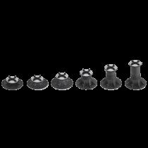Clip  V2A - Halterung für Seitenverkleidung (unten) für Stelzlager RH-ST  0 - 5