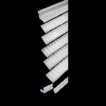 Rinklake Drainagerinne H-STE 1000 mm 140 mm Breite - 54 bis 69 mm Höhenverstellung