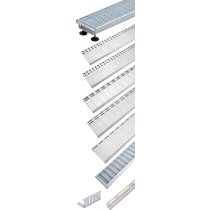 Rinklake Drainagerinne Stelz-ST 1000 mm 100 mm Breite - 55 bis 80 mm Höhenverstellung