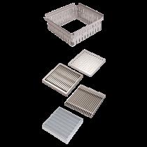 Rinklake Drainagegully GH-ST Einlaufmaß 500x500 mm - Höhenverstellung 70 - 100 mm