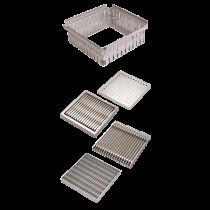 Rinklake Drainagegully GH-STE Einlaufmaß 500x500 mm - Höhenverstellung 54 - 69 mm