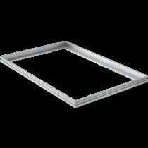 Mattenrahmen Aluminium 80 x 50 cm für 22 mm Mattenhöhe