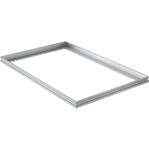 Mattenrahmen Aluminium 90 x 60 cm für 22 mm Mattenhöhe