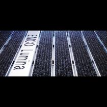 Edelstahl-Profil f. Schriftzüge 50 mm für Matten