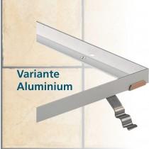 Aluminium-Profil 20 x 20 x 3 mm für Reinstreifer N 17