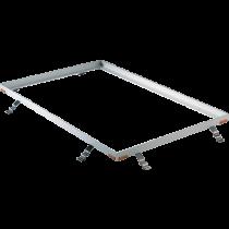 Aluminium-Profil 25/28/3 mm für Reinstreifer