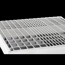 Gitterrost verzinkt  - ohne Zarge 800 x 500 mm - MW:  30x10