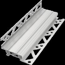 Bewegungsprofil aus Aluminium à 2,50 m FABV-Wand 54/8