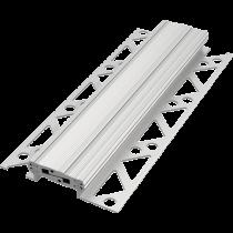 Bewegungsfugen-Profil aus Vollaluminium FABV 40/8  à 2,50 m