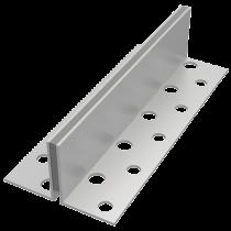 Aluminium Schwundfugenprofil SAK-GW 9/60 à 3,00 m