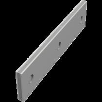 Edelstahl Sandwich-Profile (1,5 mm) mit 10 mm Zellkautschuk