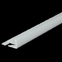 Aluminium-Fliesenschiene FAE 125 à 3,00 m - ELOXIERT