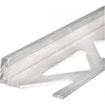 Aluminium-Fliesenschiene FAE 125 à 2,50 m - eloxiert