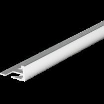Aluminium-Fliesenschiene FA-BC 125 à 2,50 m - BRILLANTCHROM