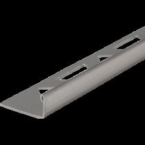 Edelstahl-Fliesenschiene FEG 150  à 2,50 m GEBÜRSTET