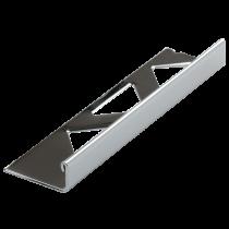 Edelstahl-Fliesenschiene FE-BC 125 à 2,50 m