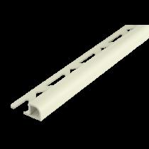Kunststoff-Fliesenschiene FKR 100 W à 2,50 m - Rundprofil -
