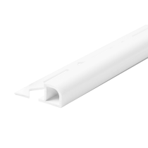 Kunststoff-Fliesenschiene FKR 100 BW à 2,50 m - Rundprofil