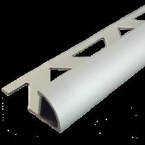 Aluminium-Fliesenschiene FAR-AE 80 à 3,00 m - Viertelkreis - ELOXIERT