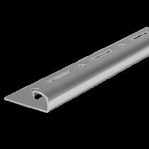 Edelstahl-Fliesenschiene FER-S 100 à 2,50 m >>V4A