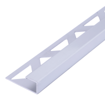 Aluminium-Fliesenschiene FAQ-AE 100 à 2,50 m - Quadratisch - ELOXIERT