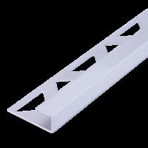 Aluminium-Fliesenschiene FAQ-AE 125 à 2,50 m - Qudratisch - ELOXIERT