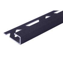 Aluminium-Fliesenschiene - Style FAQ-AZ 110 à 2,50 m - ANTHRAZIT