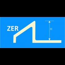 VARIO-Profil Edelstahl ZER 100 à 2,70 m