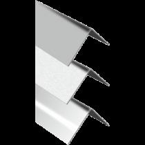 Eckschutzprofil - dreifach gekantet 25 x 25 x 1 mm à 3,00 m