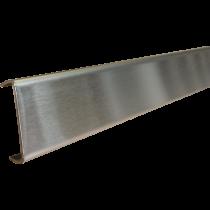 Bordüre DWP/G 25 - Deco-Wandprofil 25 mm Edelstahl gebürstet à 2,50 m