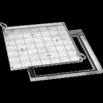 Schachtabdeckung BV slim 88 80 x 80 cm