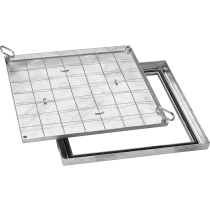 Schachtabdeckung BVE-Slim 22 20 x 20 cm