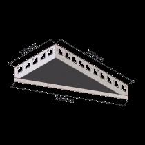 Duschablage - Dreieckform 170 x 300 mm - länglich, RECHTS