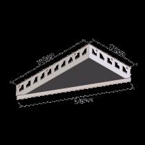 "Duschablage ""Dreieckform"" 170 x 300 mm / länglich LINKS"