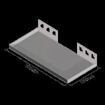 Duschablage - Rechteckform 300 x 150 mm - BREIT