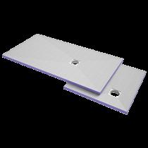 Duschelement 1000x1000x40 mm HBCD frei - Dezentral -