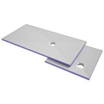 Duschelement  1500x900x40 mm HBCD frei - Dezentral -