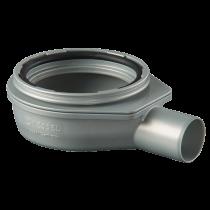 Ablauf waagerecht für lineare Entwässerung Höhe: 70 mm / DN: 50 mm