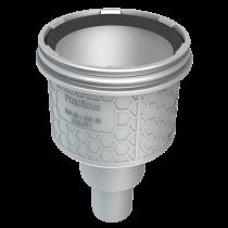 Ablauf senkrecht für lineare Entwässerung Höhe: 192 mm / Breite: 156 mm / DN: 50 mm