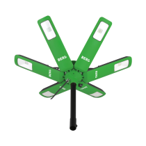 Rinklake Star LED Strahler 10 mtr. Netzkabel und 2 mtr. Teleskopstativ
