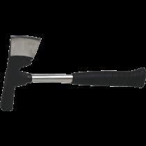Gipserbeil - Stahlrohrstiel -