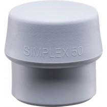 """Schonhammer """"Simplex"""" - Schlageinsatz-Ersatz MID - grau 50 mm"""