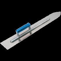 Steinholz-Glättekelle mit Holzgriff Stahl - 60 cm