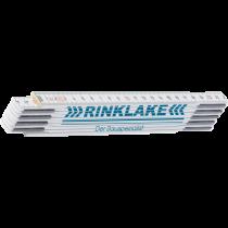 "Zollstock weiß - "" Rinklake"" - bis 200 cm -"