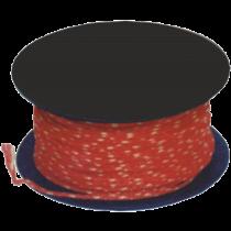 Maurerschnur 50 m 1,2 mm / rot