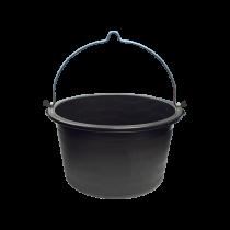 Mörtel-Kübel 40 Liter mit Bügel u. Kreuzboden